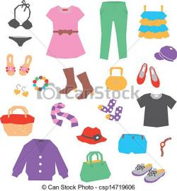 Dress clipart womens clothes