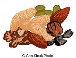 Almond clipart dry fruit