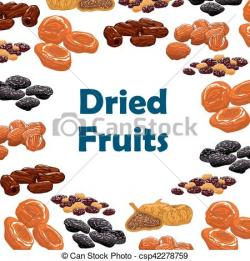 Dried Fruit clipart frut