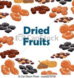 Dried Fruit clipart frut
