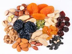 Dried Fruit clipart mixed nut