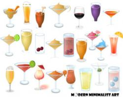 Alcohol clipart alcoholic beverage