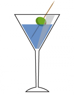 Alcohol clipart martini glass