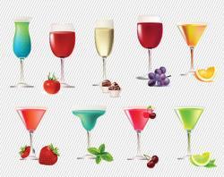 Pub clipart mixed drink
