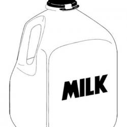 Plastic clipart pint milk