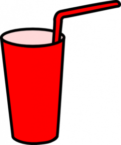 Straw clipart drinking glass