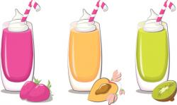 Smoothie clipart outline