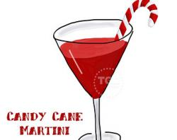 Candy Cane clipart cocktail