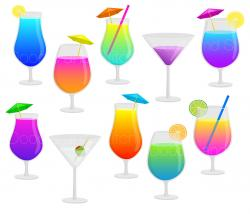 Alcohol clipart holiday cocktail