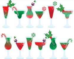 Drink clipart holiday cocktail