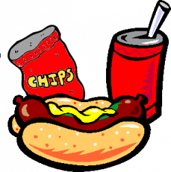 Drink clipart hot dog