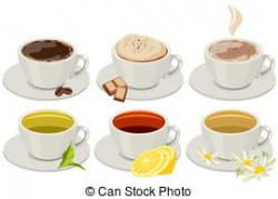 Cappuccino clipart hot beverage