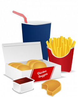 McDonald's clipart unhealthy food