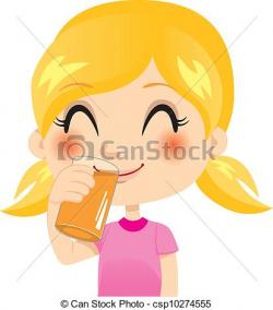 Drink clipart orange juice
