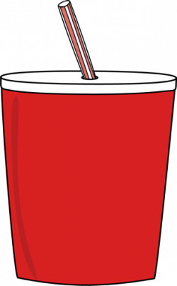 Soda clipart cup straw