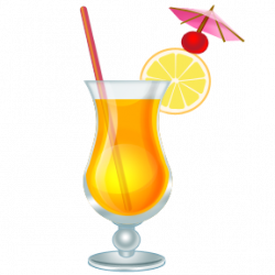 Rum clipart mixed drink