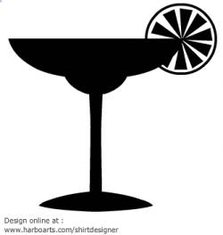Drink clipart silhouette
