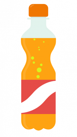 Drink clipart soda bottle