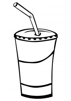 Soda clipart drinking cup