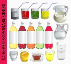 Beverage clipart soda water