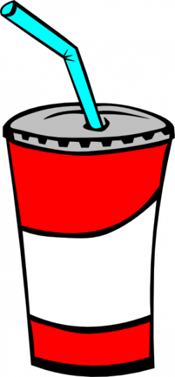 Pepsi clipart cup straw