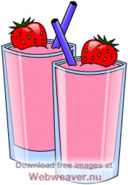 Drink clipart strawberry lemonade