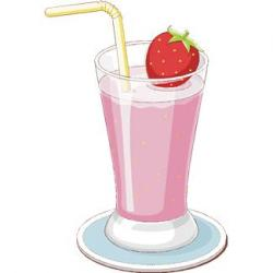 Smoothie clipart banana berry