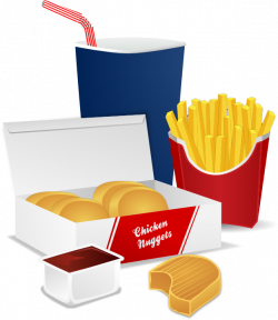 McDonald's clipart unhealthy diet