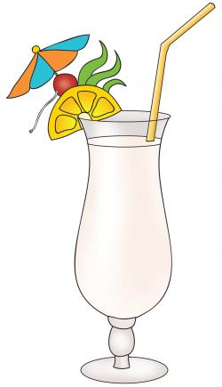 Drink clipart tropical drink