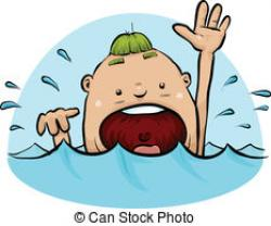 Drown clipart