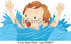 Drown clipart Drowning Cartoon