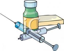 Syringe clipart