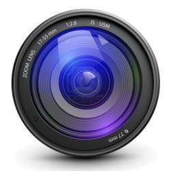 Lens clipart logo