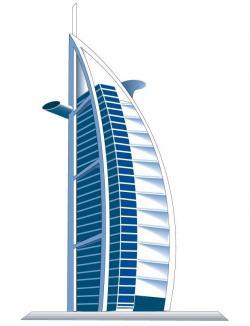 Hotel clipart burj al arab