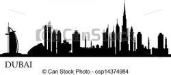 Skyscraper clipart dubai city