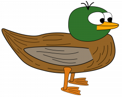 Mallard clipart cartoon