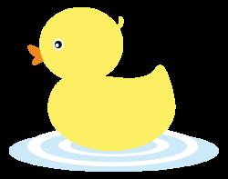 Cute clipart duckling