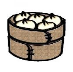 Dumpling clipart siomai