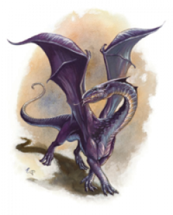 Dungeons & Dragons clipart chromatic dragon