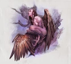 Dungeons & Dragons clipart harpy