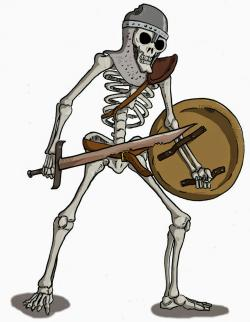 Dungeons & Dragons clipart skeleton