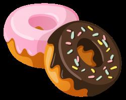 Bagel clipart doughnut