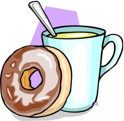 Dougnut clipart coffee and