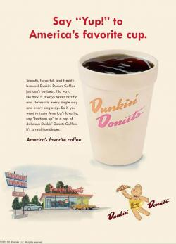 Dunkin Donuts clipart cafe food