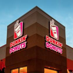 Dunkin Donuts clipart cafe menu