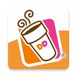 Dunkin Donuts clipart icon