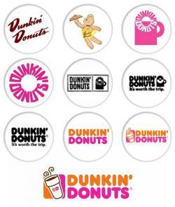 Dunkin Donuts clipart logo