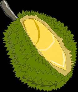 Durian clipart cute