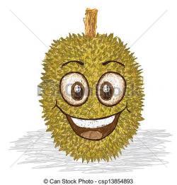 Durian clipart gambar