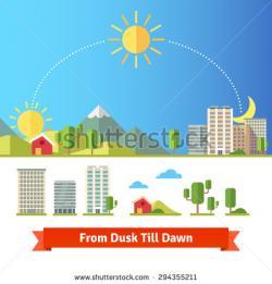 Dawn clipart noon sun